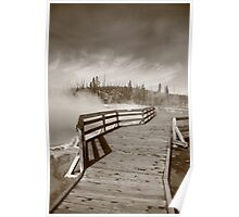 Yellowstone Park - West Thumb Geyser Basin Poster