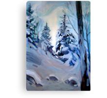 Snow Vision Canvas Print