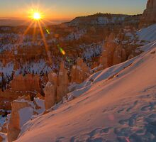 Inspiration Point Sunrise by Clayhaus