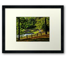 """""""Saturday, In The Park"""" Framed Print"""