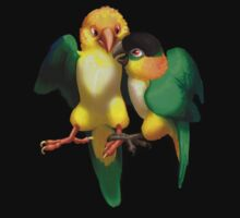 Caique Love Isolated by Fable