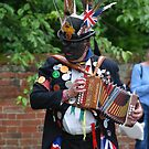 Suffolk Morris Dancer by Christopher Cullen