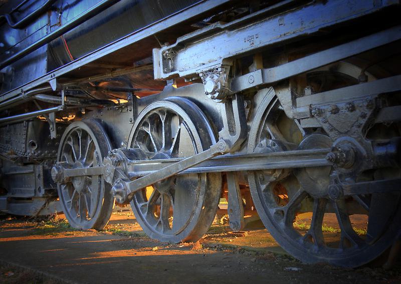 Margate Train, Margate, Tasmania. by Philip Hallam