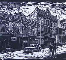King Street from Wilson, Newtown,  by maggiestein