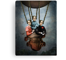 She knew she could fly Canvas Print