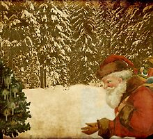 Here comes Santa.. by Marie Luise  Strohmenger