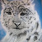 Portrait of a Snow Leopard by GEORGE SANDERSON