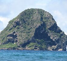 Majestic Diamond rock - Le Diamant - Martinique FWI by verono972