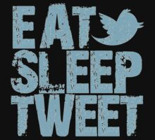 eat sleep tweet by nadievastore