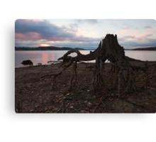 Sunset, Rutland Water. Canvas Print