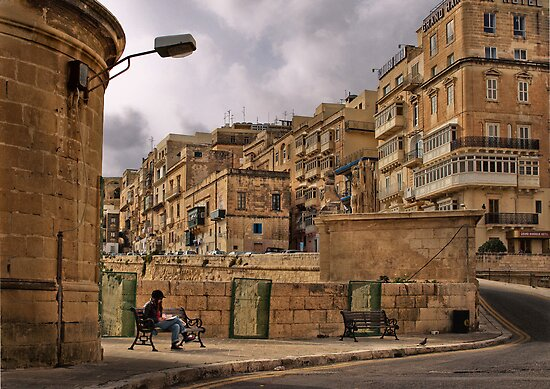 Revision Papers ---- Valletta Malta by Edwin  Catania