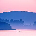 Lone Rower! by Gursimran Sibia
