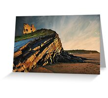 Evening Glow - Ballybunion Greeting Card