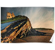Evening Glow - Ballybunion Poster