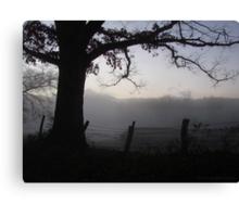 A Smoky Mountain Fog Canvas Print