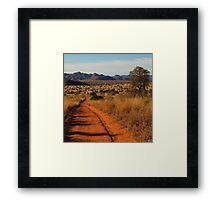 Road to nowhere Framed Print