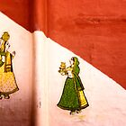 Wall murals House #2, Udaipur - Rajasthan by Neville Bulsara