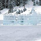 Ice Castle In Winter by Nancy Richard