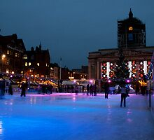 City of Nottingham, Ice Rink by Elaine123