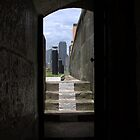 Door to the City by Alfredo Estrella