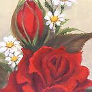 Rose & Daisy by Vickyh