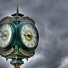 Peachland Clock by Justin Atkins