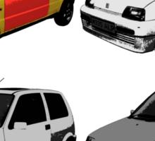 The Clungemobile - The Inbetweeners Sticker