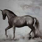 Watercolour: Horse by Marion Chapman