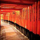 Fushimi-Inari Shrine by Janette Zlamal