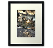 A county Down Winter Scene Framed Print