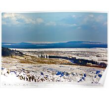 Winter on the North Yorks Moors Poster