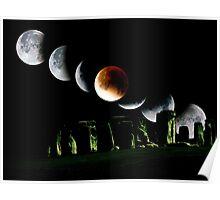 Winter Solstice Lunar Eclipse Poster