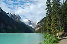 Lake Louise - 3 by Barbara Burkhardt