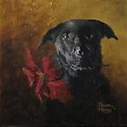1st Christmas Portrait by Bruce Haney