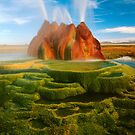 Green Geyser by Inge Johnsson