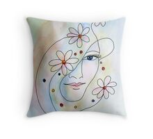 They call me Daisy... Throw Pillow
