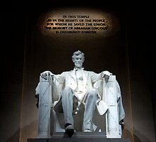The Lincoln Memorial in Washington, D.C. by Joe Bashour