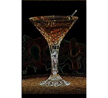 Martini X Photographic Print
