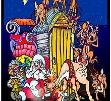 A Santa Smash by Ken Tregoning