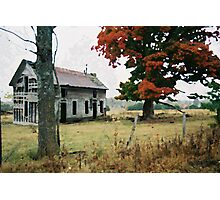 Old Ozark House 3 Photographic Print