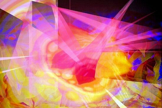 Crystallizing flower by ?? B. Randi Bailey