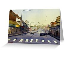 Late Afternoon, Windsor, NSW Greeting Card