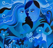 LOVERS IN BLUE by Thomas Andersen