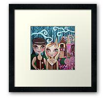 """""""Hansel and Gretel"""" Framed Print"""