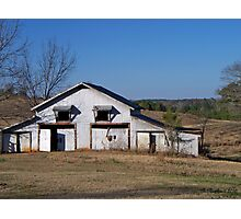 The Barn - Hwy. 11 east of Winnsboro, Texas Photographic Print