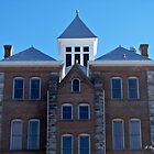 Geometric - Symmetry of Anderson, Texas courthouse by Betty Northcutt