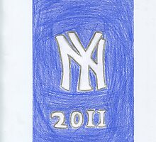 Yankees New Year by DKards