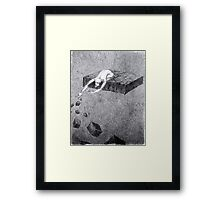 """""""Fragments of reality"""" - a sketch for the cycle """"Dreamer"""" Framed Print"""
