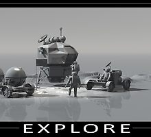 EXPLORE by mdkgraphics