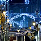 Christmas lights in Cambridge by BeardyGit